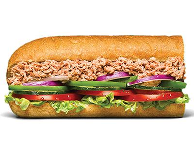Tuna 6 Inch Sandwich