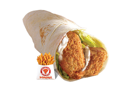 Fish Wrap Sandwich