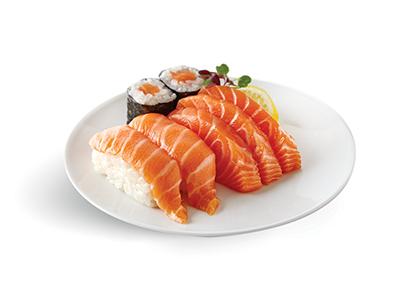 Salmon Sashimi Selection