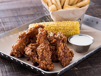 Crispy Honey-chipotle Chicken Crispers
