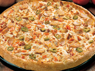 Garlic Parmesan Chicken Medium Pizza