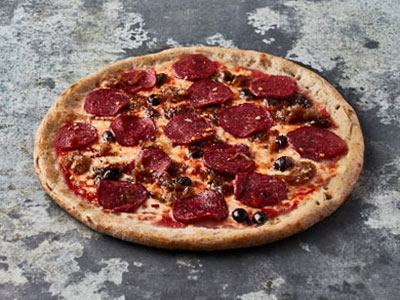 Spicy Italian Pepperoni Pizza