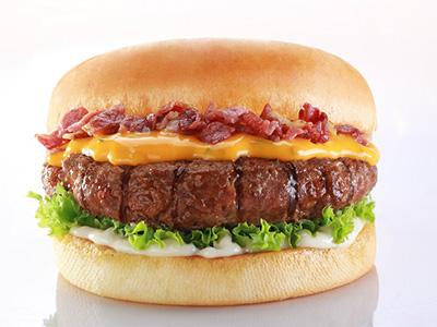 Creamy Queso Burger
