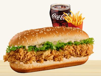 Fish Crunchy Supreme Combo