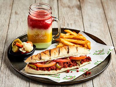 Sujuk Sammoun Sandwich
