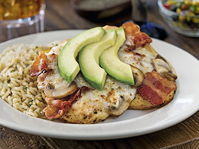 Beef Bacon Jack Grilled Chicken