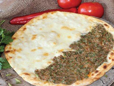 Kofta & Akkawi Cheese Manakeesh