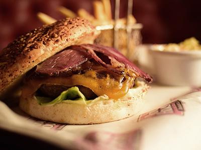 Roadhouse Cheese Burger