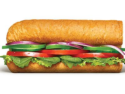 Veggie Delite 6 Inch Sandwich