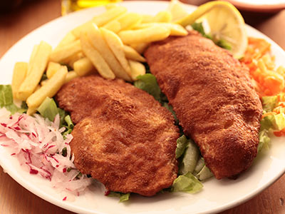 Fried Chicken Escalope