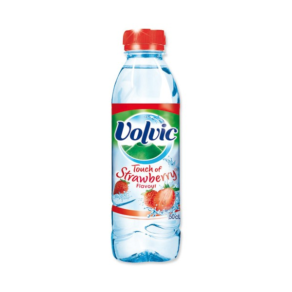 Volvic Water Strawberry Flavored (0.5 L)