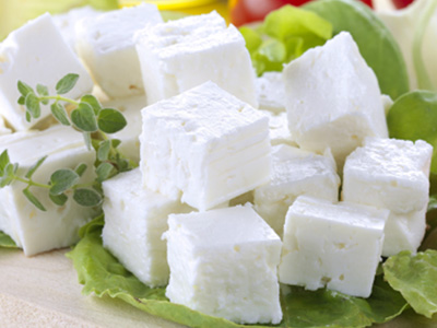 Low Fat Feta Cheese