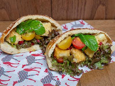 Halloumi Sandwich