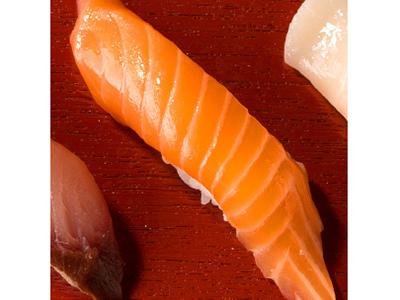Shake - 2 Pieces Nigiri Sushi