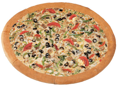 Green Garden Delight Medium Pizza