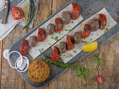 Tomato Kabab Plate