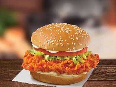 Fiery Buffalo Chicken Sandwich