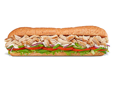 Rotisserie Chicken Footlong Sandwich