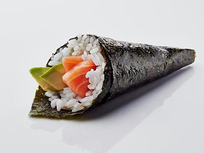 Salmon And Avocado Temaki