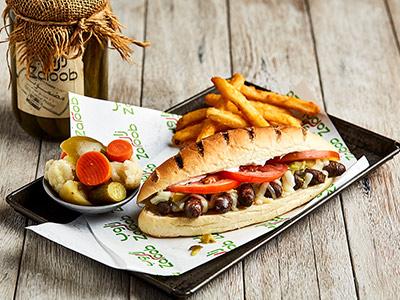 Makanek Samoon Sandwich