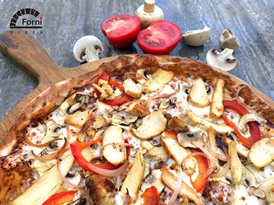 Medium Bbq Chicken Pizza