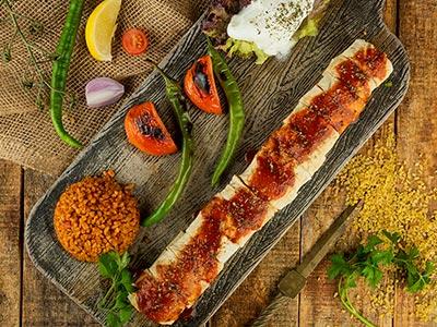 Lokma Kabab Plate