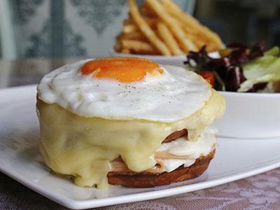 Croque Ma'am Sir Sandwich