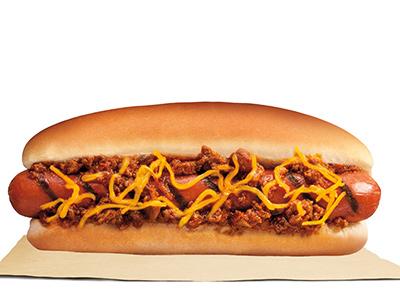 Chili Beef Hotdog