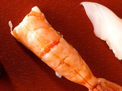 Ebi - 2 Pieces Nigiri Sushi