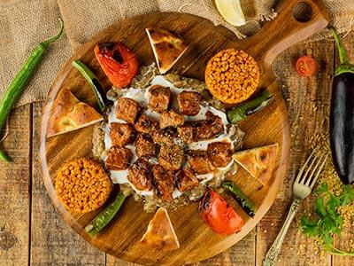 Ali Nazik Kabab Plate