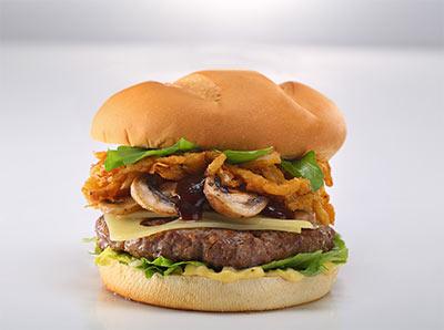 Mushroom Burger Onion
