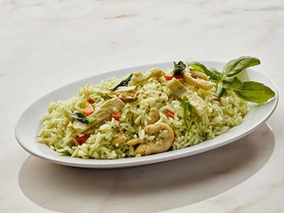 Thai Green Curry Flavoured Jasmine Chicken Fried Rice