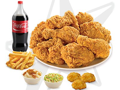 8 Pcs Chicken Meal Spicy