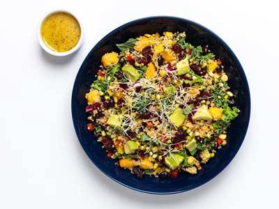 Quinoa, Mango And Black Bean Salad