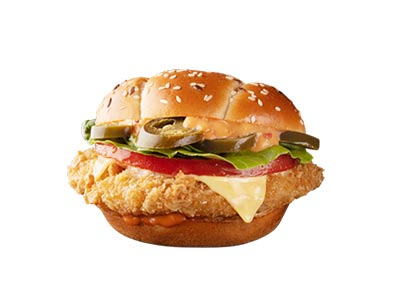 Spicy Crunchy Chicken Sandwich