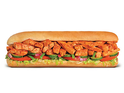 Peri Peri Chicken Footlong Sandwich
