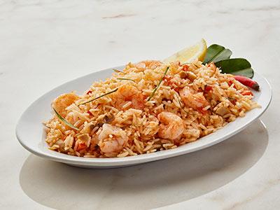 Tom Yum Flavoured Jasmine Shrimp Fried Rice