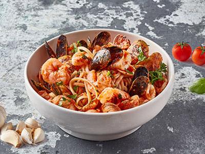 Seafood Linguine Pasta