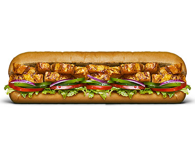 Chicken Teriyaki Footlong Sandwich
