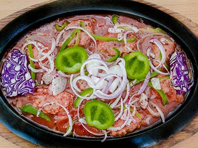 Indian Kabab Platter