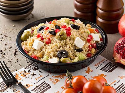 Masala Quinoa Salad