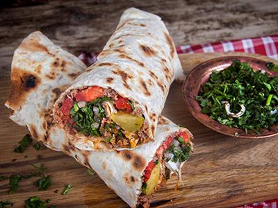 Beef Shawarma In Dough