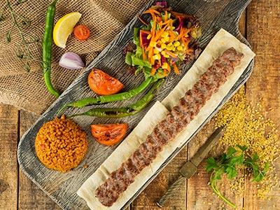Urfa Kabab Plate