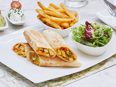 Tortilla Wrap Sandwich