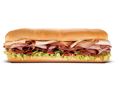 Subway Club Footlong Sandwich