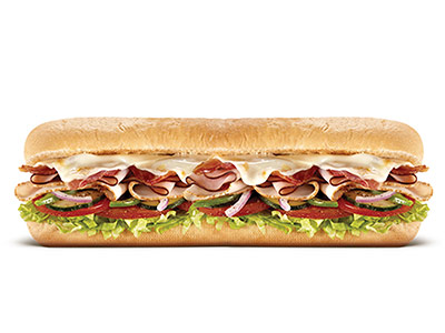 Subway Melt Footlong Sandwich