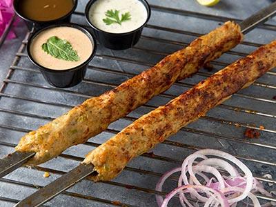 Chicken Reshmi Kebab Bbq