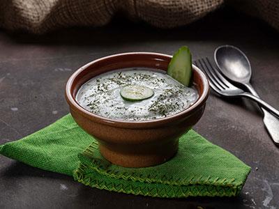 Yogurt With Cucumber