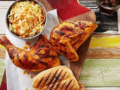1/2 Chicken With 2 Regular Sides
