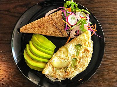 Healthy Green Omelette